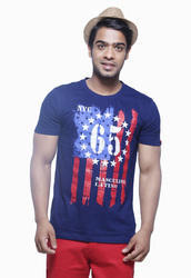 Mens Fashion Printed T Shirt