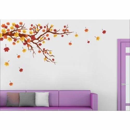 wall stickers - autumn wall sticker manufacturer from delhi