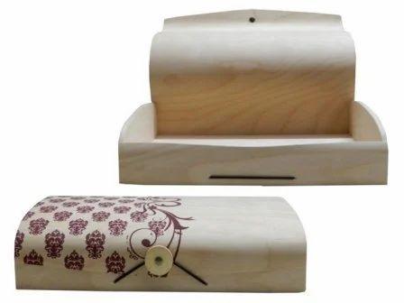 Custom Birch Veneer Wedding Box