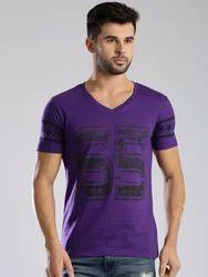 Men's Plain Knitted T Shirt