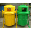 Iron Stand Dust Bins