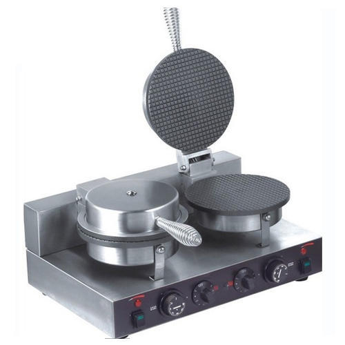double waffle cone maker