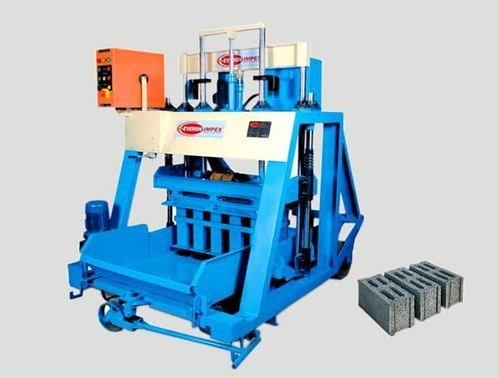 Manufacturer of New Item & Concrete Block Machine by Everon