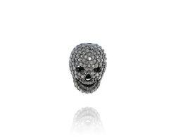Diamond Skull Beads Findings