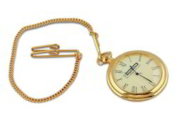 Golden Colour Pocket Watch