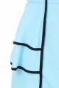 Blue One Piece Western Dress