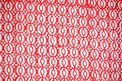Hand Block Printed Cotton Booti Printed Fabric