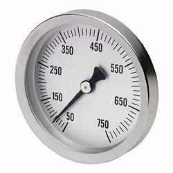 Series BTPM Panel Mount Bimetal Stem Thermometer