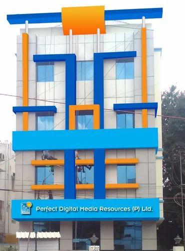 Structural Glazing - Semi Unitized Glazing System