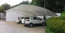 Tensile Fabric Parking Shades