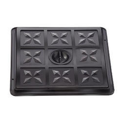 Plastic Manhole Covers 18 X 24 With Steel Reinforced