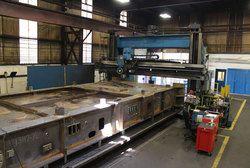 Heavy Machine Frame Fabrication
