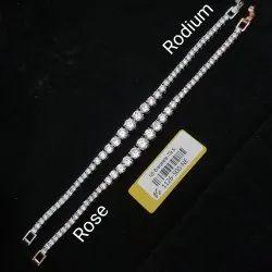 American Diamond Loose Bracelet