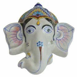 Blue Pottery Ganesha Hanger