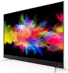 Dark Grey Hdr Pro TCL 55'' 55C2US 4K Ultra HD Google Certified Android Smart TV, Screen Size: 55''