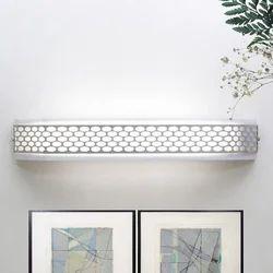 Jainsons Emporio Chrome Honeycomb Bathroom Light