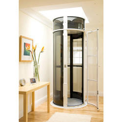 Bungalow lift wall mounted lift manufacturer from chennai for Small elevator for home price