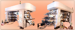 Eight Color Flexo Printing Press Machine