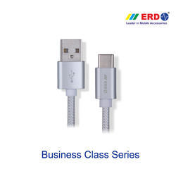 PC 65 Silver Type C (Metal Case Braided Cable)