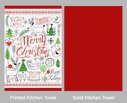 Christmas Textiles Delights Tea Towel