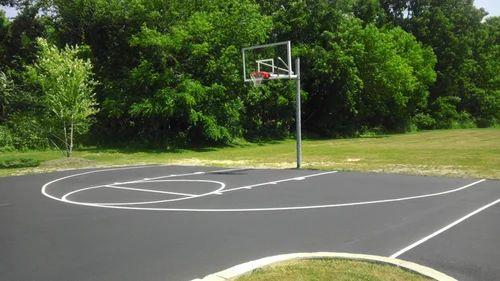 Basketball Court Flooring Wooden Basketball Court