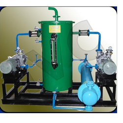 Close Loop Water Re-Circulation System of Vacuum pumps