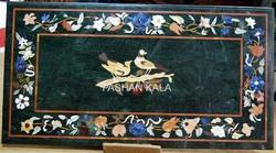 Black Stone Pietra Dura Table Top