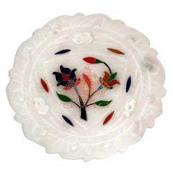 Marble Home Decor Plate