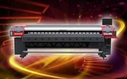 Digital Solvent Flex Printer / Banner Printer (konica 512)