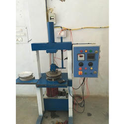 Semi Automatic Paper Plate Hydraulic Machine