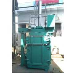 Single Box Double Cylinder Baler Machine