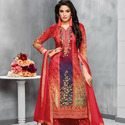 Fancy Palazzo Dress Material