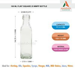 100 Ml Oil Glass Bottle