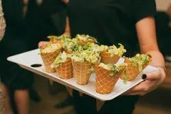 savoury waffle cone premix