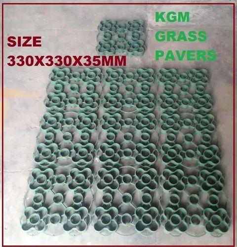 Grass Pavers 330X330X35mm