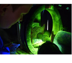 Coil Magnetic Particle Testing