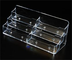 Acrylic business card holder manufacturer from new delhi acrylic business card holder colourmoves Image collections