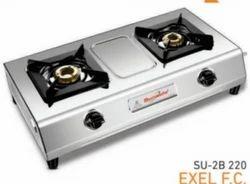 Double Burner Gas Stove SU 2B-220 Excel