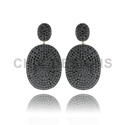 Pave Gemstone Earrings Jewelry