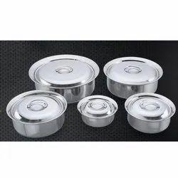 Mini Arabian Stainless Steel Handi Set
