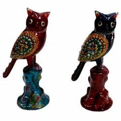 Meena Standing Owl