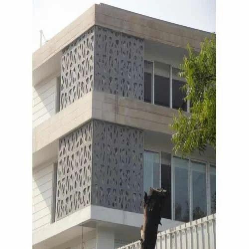 Front Elevation Jali : Grc elevation manufacturer from noida