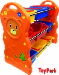 BEAR TOY SHELF (F 847)
