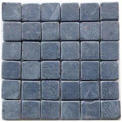 Tumbled black Sandstone Wall cladding Mosaic tile