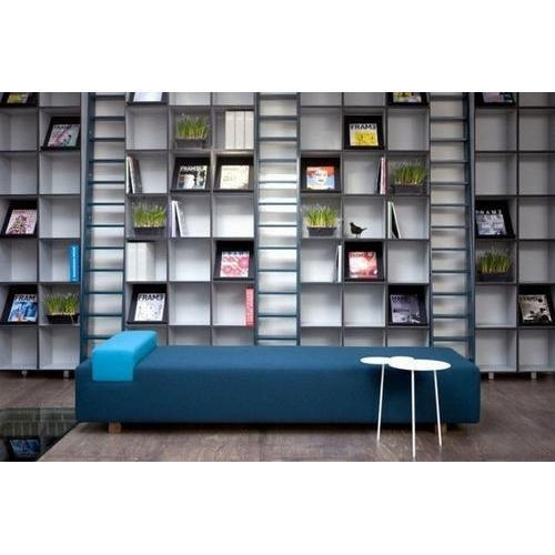 wooden library furniture manufacturer from bengaluru