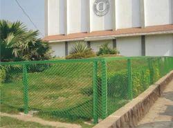 Perimeter Green Fencing Net
