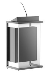 Ergonomically Designed Lectern With PA Podium