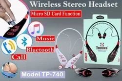 Troops Tp-7003 Tp-740 Bluetooth Headset