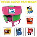Paver Block Pan Mixer Machine