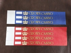 Casino Wrist Bands